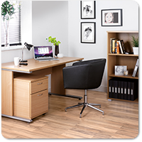 Urban Beech Home Office Furniture Range