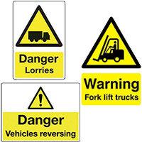 Vehicle Hazard Signs