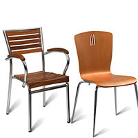Wooden Canteen Chairs