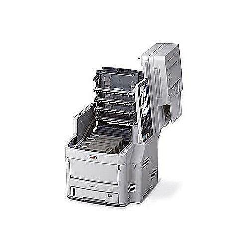 OKI MC760dn Colour Multifunction Laser Printer A4 Duplex Print Copy Scan Fax
