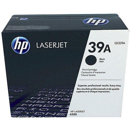 More Printers 4 PK Q1339A BLACK Toner Cartridges for HP 39A LaserJet 4300dtns