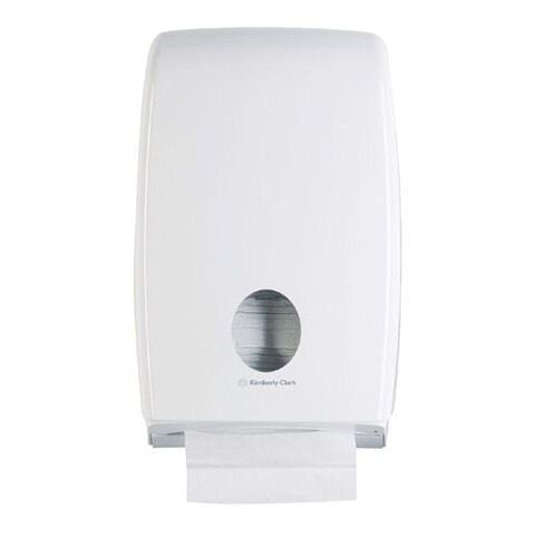Kimberly Clark AQUARIUS Bulk Pack Toilet Tissue Plastic Dispenser White 6946