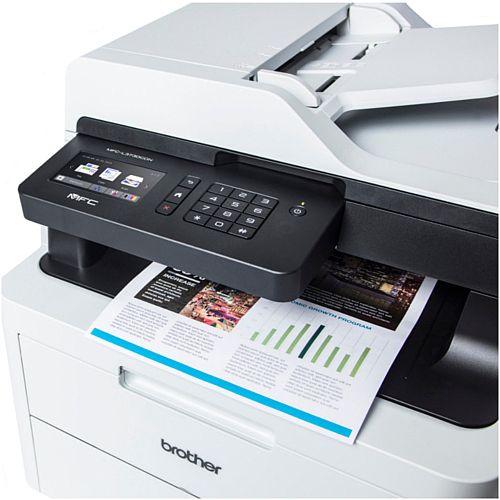 Brother MFC-L3730CDN Colour Multifunction Printer - LED - A4 - USB /  Ethernet, Duplex, 2400 x 600 dpi