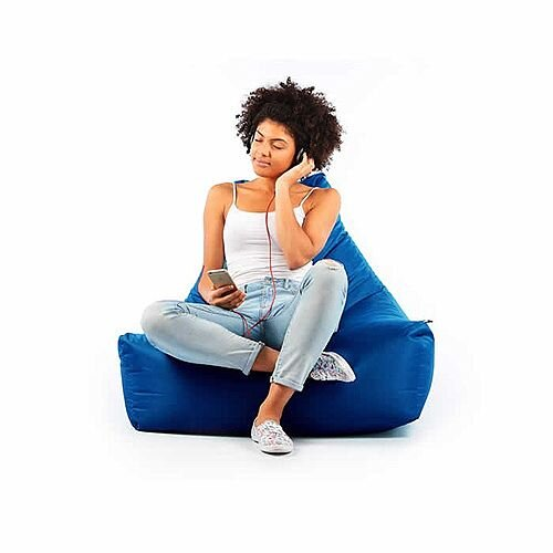 Magnificent Mighty Bean Bag Chair Royal Blue Ibusinesslaw Wood Chair Design Ideas Ibusinesslaworg
