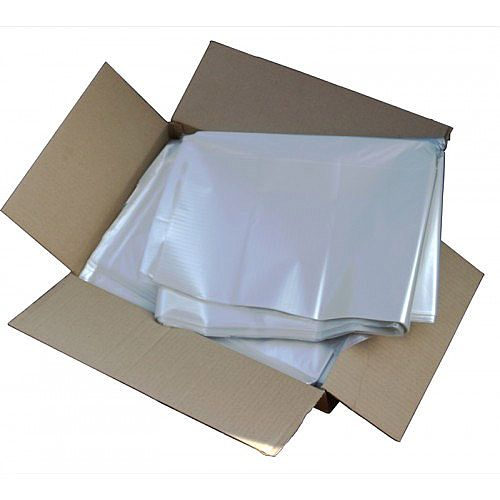 5 Star Refuse Sacks 33 Micron 110 Litre Capacity Clear [Box 200]