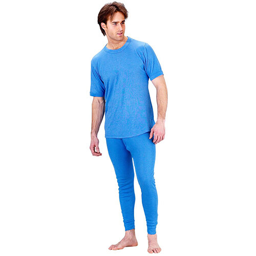 Click Workwear Thermal Long John Trousers Size 3XL Blue Ref THLJXXXL Additional Image 1