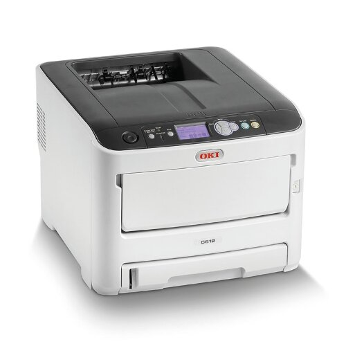 OKI C612n Colour Laser Networked Printer A4 Additional Image 2