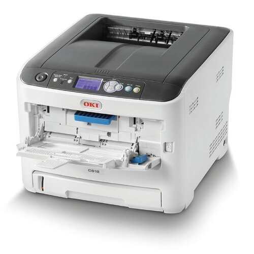 OKI C612n Colour Laser Networked Printer A4 Additional Image 1