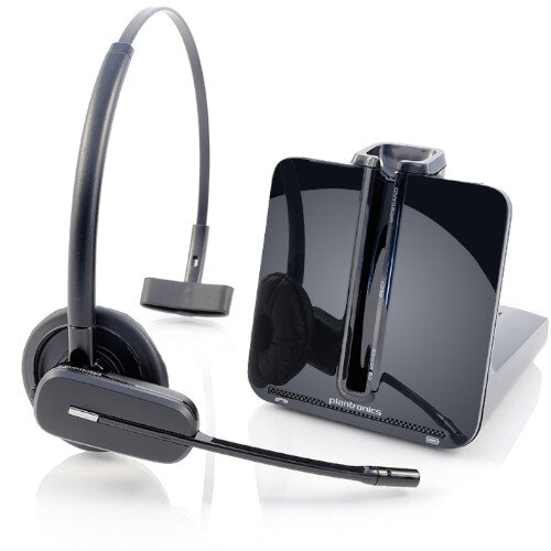 Plantronics CS540 Lightweight (21g) Wireless Headset, Range up to 120metres, 7 hours talktime, Energy Saving Feature at HuntOffice.ie