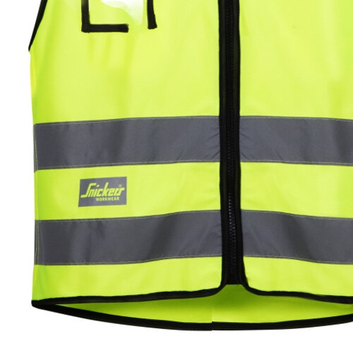 Snickers High-Vis Vest Yellow Class 2 9153
