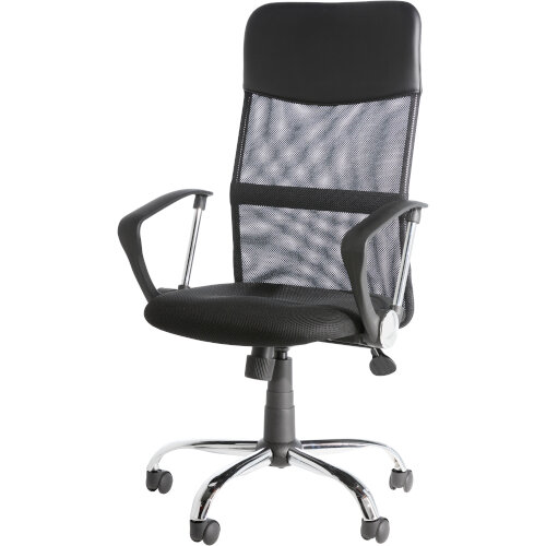 Alphason Office Chair Orlando Black Mesh Additional Image 1