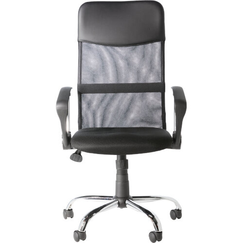 Alphason Office Chair Orlando Black Mesh Additional Image 2
