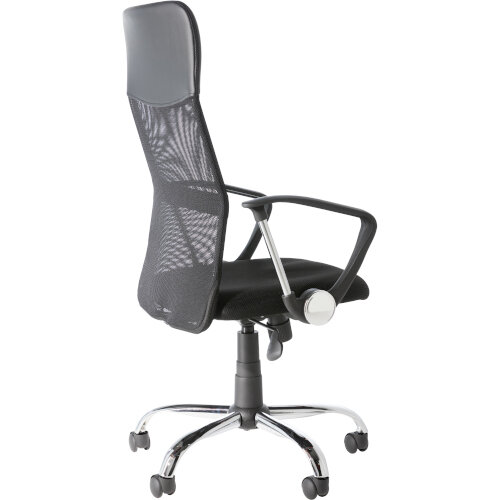 Alphason Office Chair Orlando Black Mesh Additional Image 3