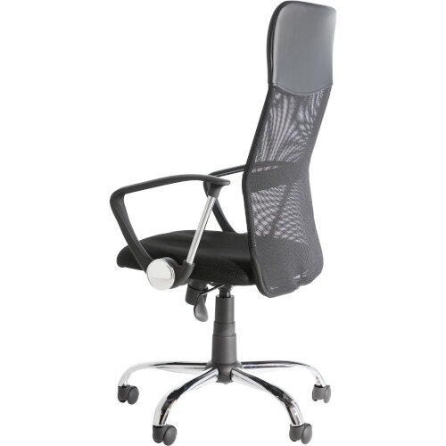 Alphason Office Chair Orlando Black Mesh Additional Image 4