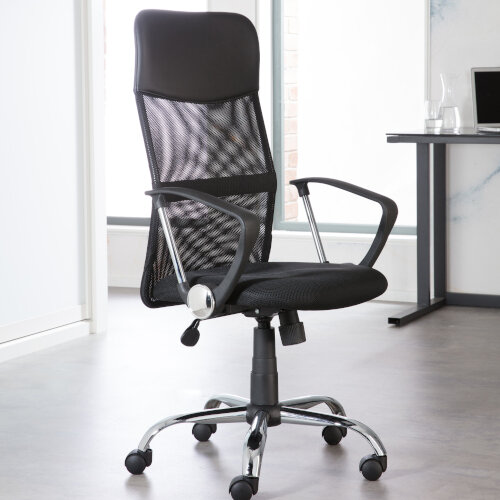 Alphason Office Chair Orlando Black Mesh Additional Image 5