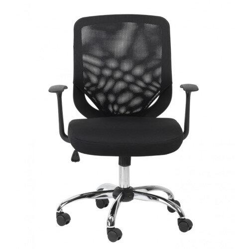 Alphason Mesh Office Chair Atlanta Black Additional Image 1