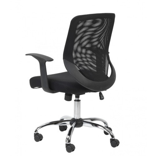 Alphason Mesh Office Chair Atlanta Black Additional Image 2