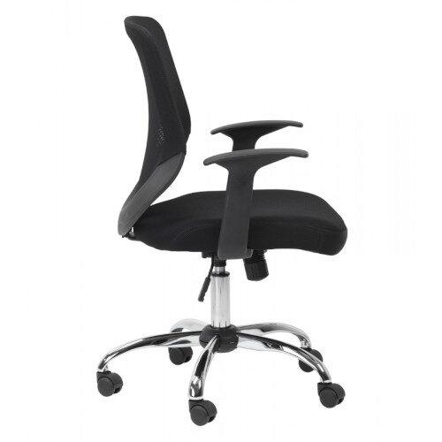 Alphason Mesh Office Chair Atlanta Black Additional Image 3