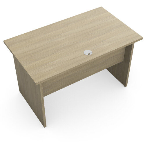 Home Office Ashford Desk W1200xD700mm 25mm Desktop Panel Legs Urban Oak Additional Image 3