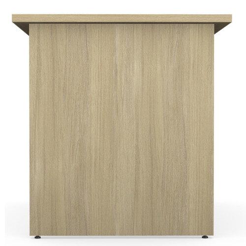 Home Office Ashford Desk W1200xD700mm 25mm Desktop Panel Legs Urban Oak Additional Image 4