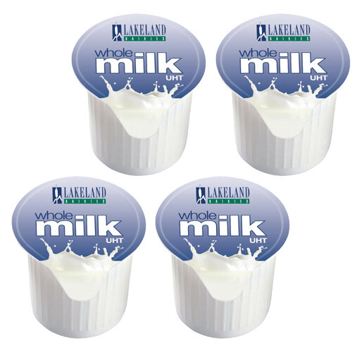 Millac Maid Milk Jiggers Long Life Full-Fat 14ml Pack 120