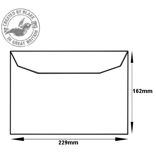 Purely Everyday Mailer Gummed White 90gsm C5 162x229mm (Pack 500) HuntOffice.ie