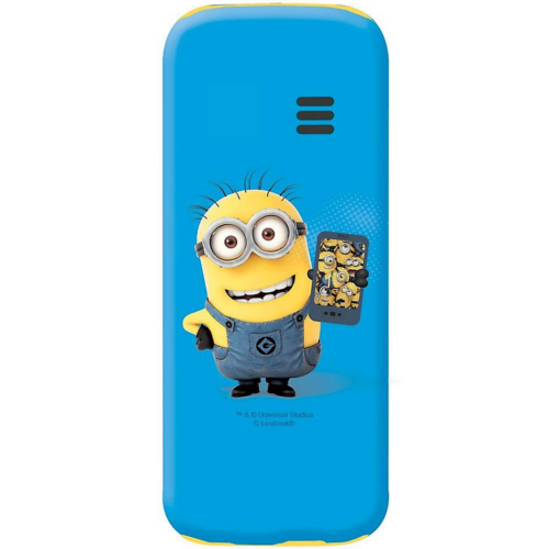 Lexibook GSM20DES Despicable Me Dual Sim 2G Mobile Phone FM Radio, Bluetooth and Torch light - Blue at HuntOffice.ie