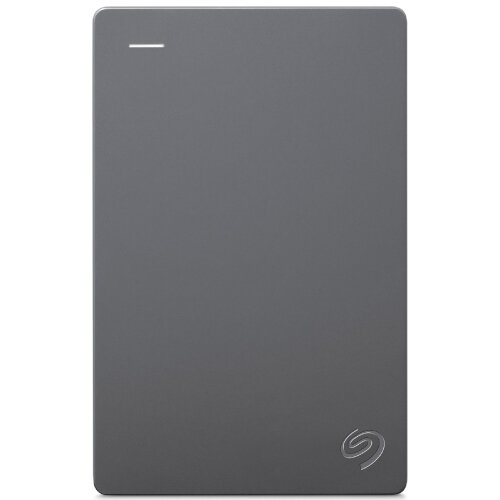 Seagate Basic 2 TB Portable Hard Drive - 2.5 External HDD - Desktop PC Device Supported - USB 3.0 - STJL2000400 - Grey at HuntOffice.ie