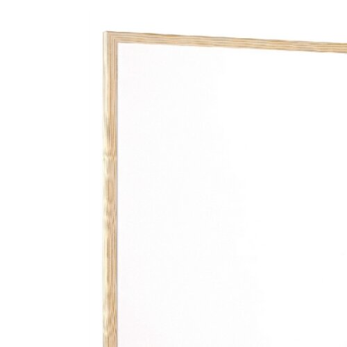 Q-Connect Whiteboard Wooden Frame