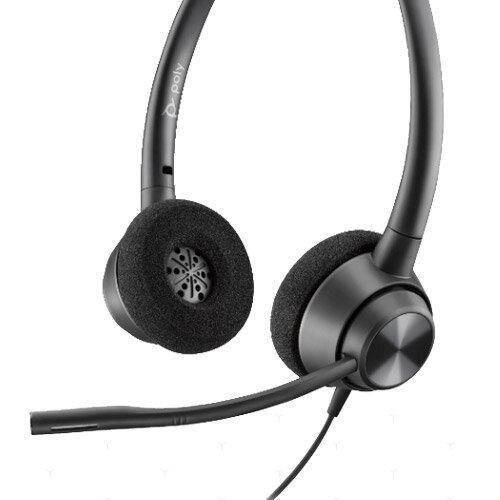 Plantronics POLY EncorePro 320 USB Headset Black