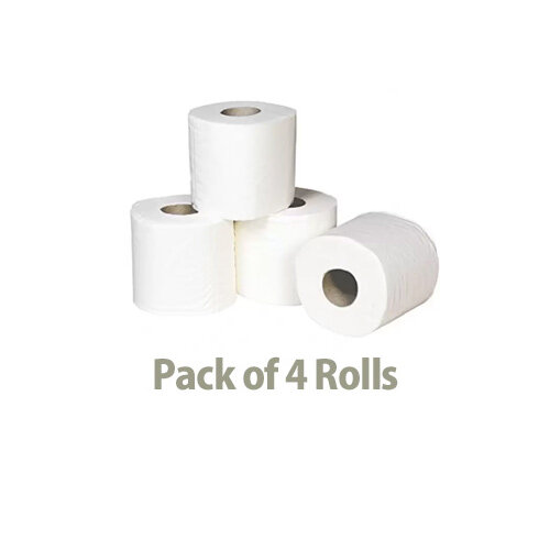 Andrex Classic White Toilet Tissue Paper Rolls Pack of 4 Ref M01389  Additional Image 3