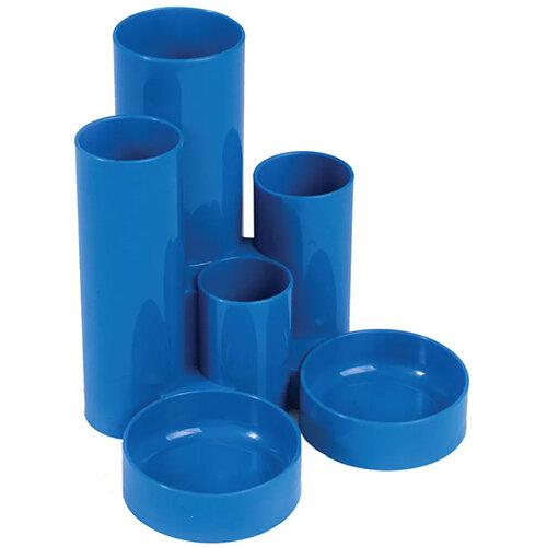 Q-Connect Desk Tidy Blue Bundle Set