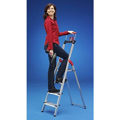 Hailo Step Ladder Xxl 6 Steps 150kg Capacity Ref 8856 001