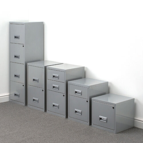 1 drawer filing cabinet cube steel a4 silver pierre henry 1 drawer file cabinet