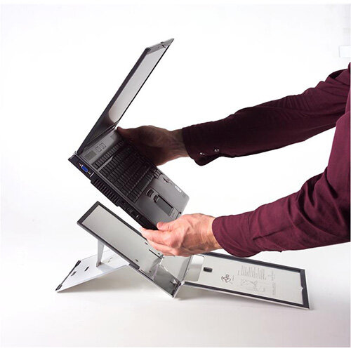 a3ff38dabd4 Bakker Elkhuizen Ergo-Q 260 Portable Ergonomic Notebook Tablet Stand ...