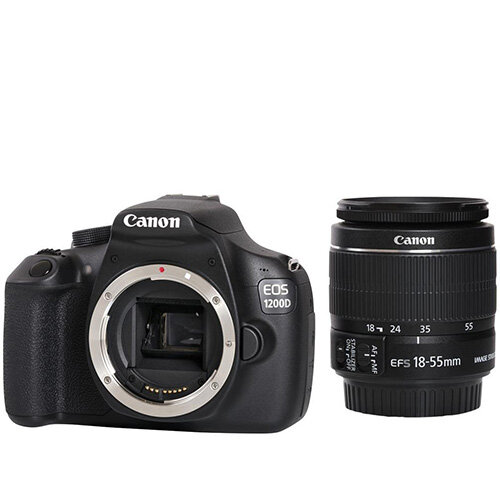 Canon EOS 1200D Digital SLR Camera Kit Rechargeable Li-ion