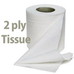 Recycled Toilet Paper Roll White 2 Ply Pack 48 Maxima