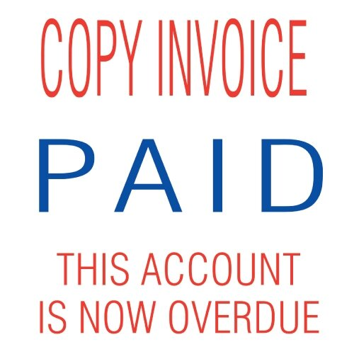 Trodat In Accounts Stamp Stack Copy Invoice Paid This - Invoice stamp