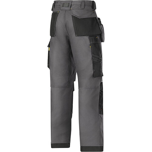 SNICKERS 3214 WORK TROUSERS GREY HOLSTER POCKETS BRAND NEW WITH TAGS