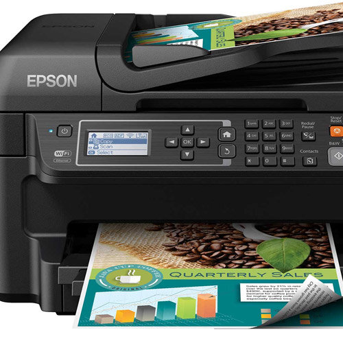 how to connect to printer et 4550