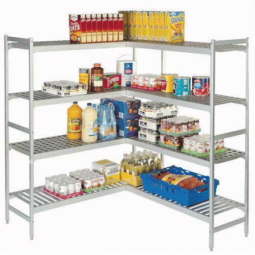 Cold Store Storage Narrow Width Aluminium Shelving Max