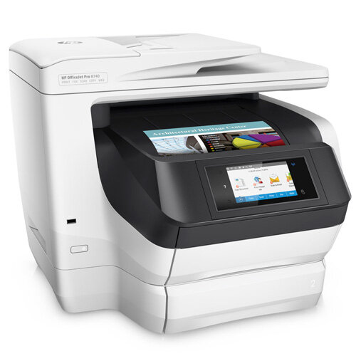Hp Officejet Pro 8740 All In One Printer White D9l21a