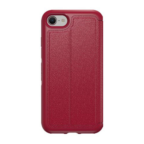 competitive price ca192 b882a OtterBox Symmetry Series Etui Apple iPhone 7 - Flip cover for mobile phone  - faux leather - cafe racer - for Apple iPhone 7