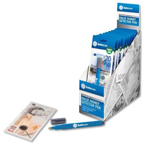 Safescan Counterfeit Money Detector Pen Pack Of 10