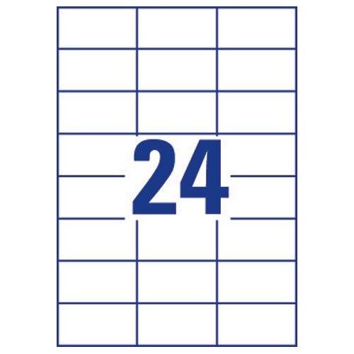 avery quick dry inkjet address labels 24 per sheet 63 5x33