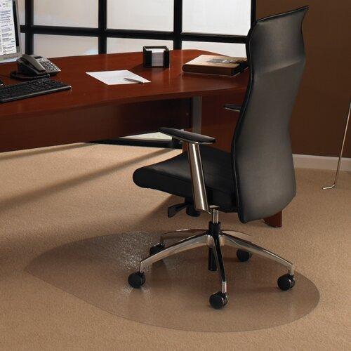 Cleartex Advantagemat Pvc Chairmat For Carpets Contoured