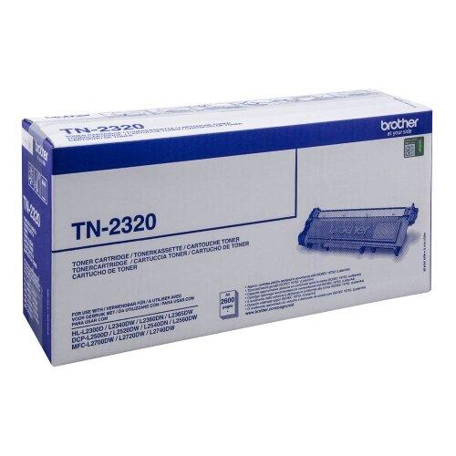 brother tn 2320 black high capacity toner cartridge tn2320 ireland. Black Bedroom Furniture Sets. Home Design Ideas
