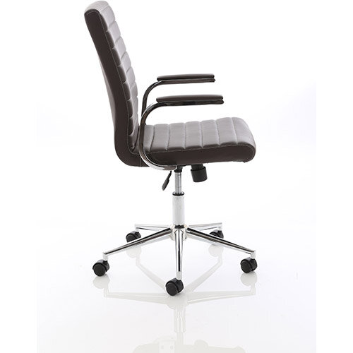 brown leather office chairs. Ezra Executive Brown Leather Office Chair Chairs
