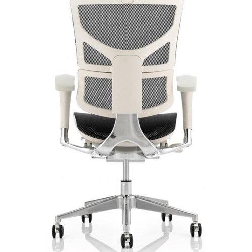 Pleasing Ergo Dynamic Grey Frame Black Mesh Ergonomic Posture Office Chair Soft Designer Mesh Seat And Split Back Best Image Libraries Sapebelowcountryjoecom