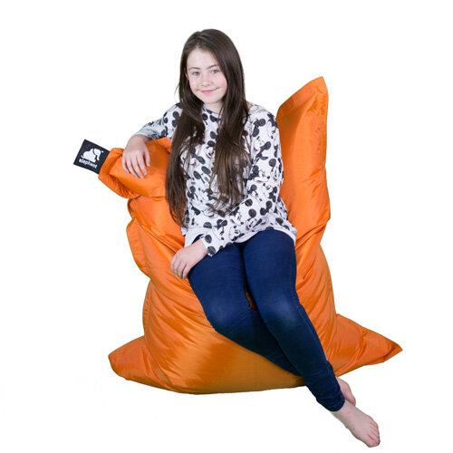 Tremendous Elephant Junior Indoor Outdoor Use Kids Size Bean Bag 1400X1100Mm Zesty Orange Unemploymentrelief Wooden Chair Designs For Living Room Unemploymentrelieforg